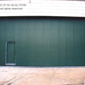 large industrial sliding doors