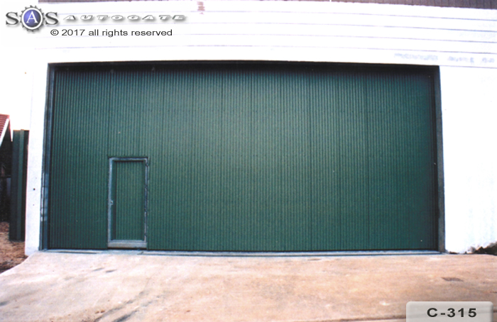 large industrial sliding doors