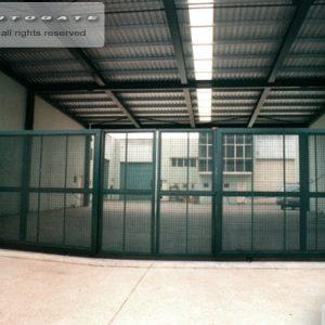 industrial swing - slide gates