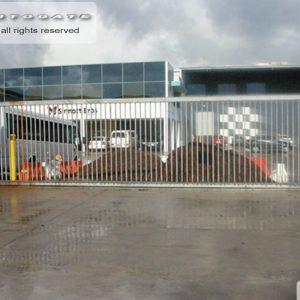 large industrial sliding gate