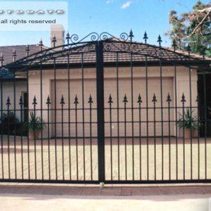 decorative steel gates