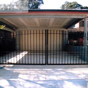 steel swing gates