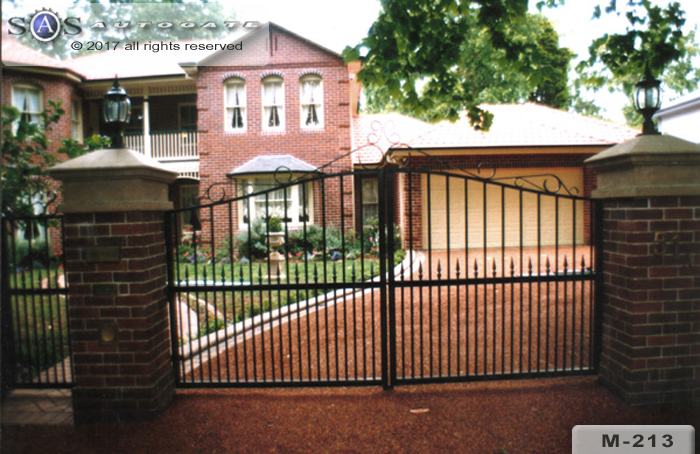 automatic steel gates