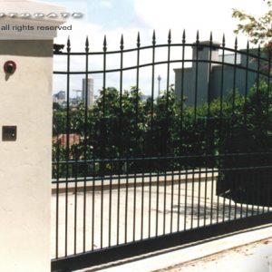 steel swing gate