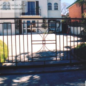 steel sliding gate