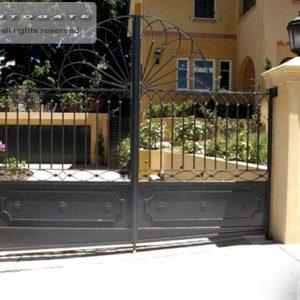 wrought swing gates