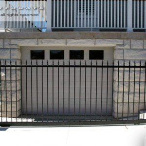 sliding steel gate