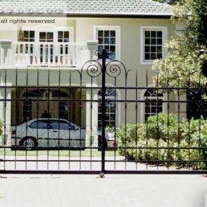 antique wrought iron gates