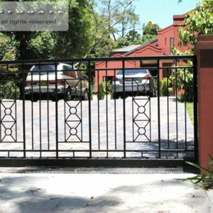 automatic steel sliding gate