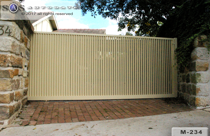 automatic aluminium sliding gate