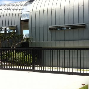 steel telescopic gates