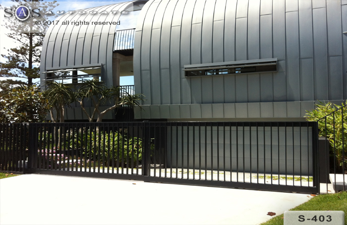 steel telescopic gates