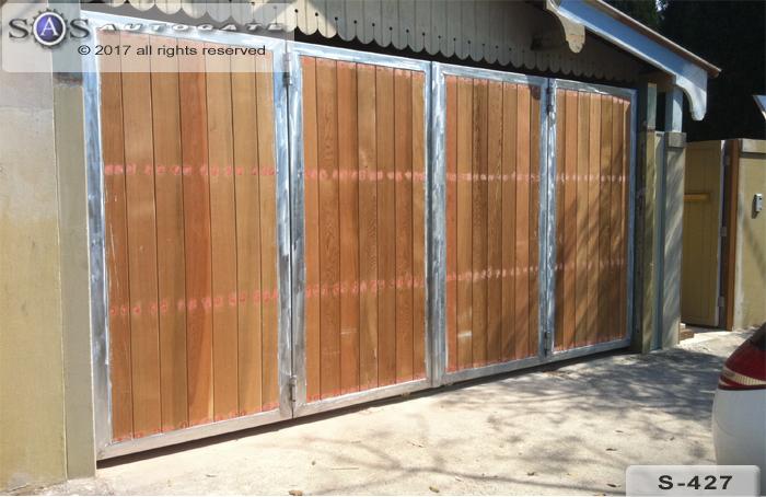 automatic timber bi-fold doors