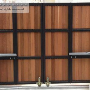 automatic bi-fold gates
