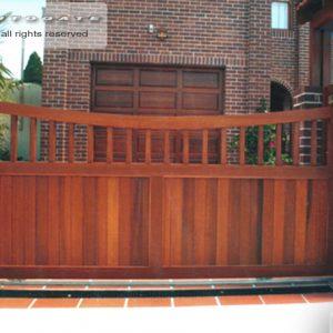 federation style sliding gate