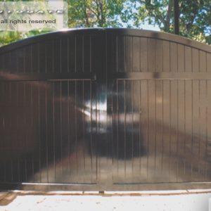 modern cedar gate