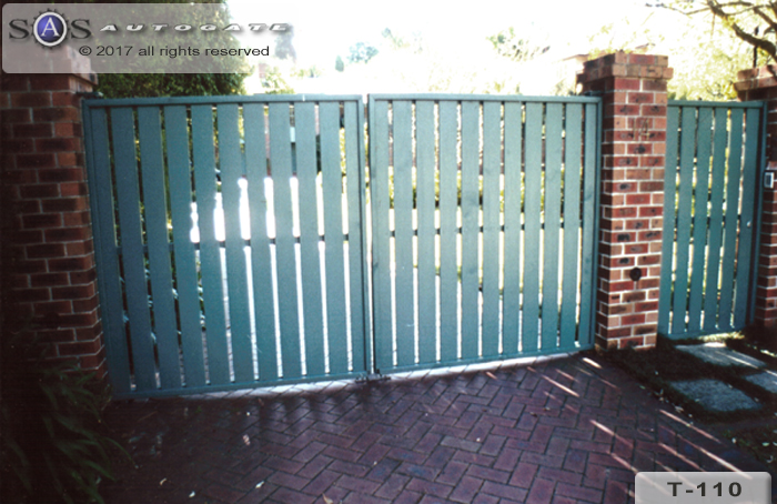 timber and steel gates