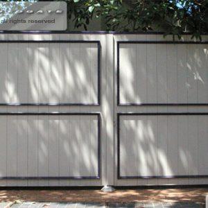 decorative timber gates