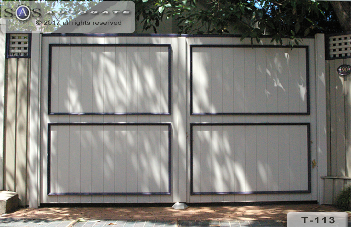 decorative timber gates