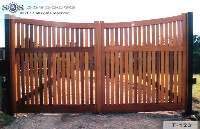 automatic timber gates
