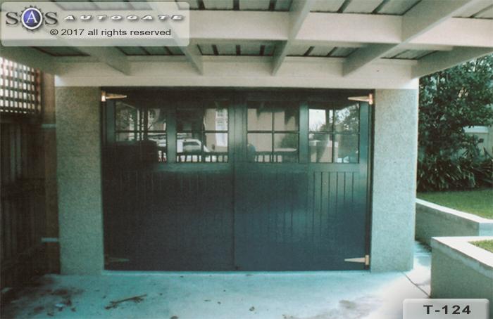 automatic timber doors