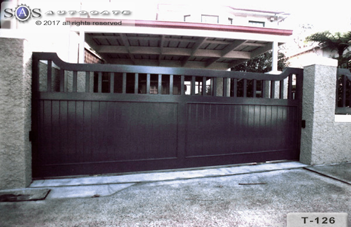 Federation style timber gates