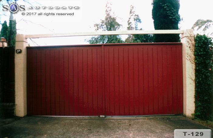 automatic timber gates