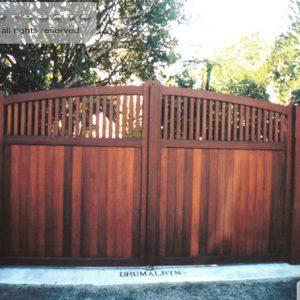 Cedar swing gates